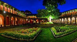 Garden Lawn, Belmond Monasterio, Cusco, Peru, South America