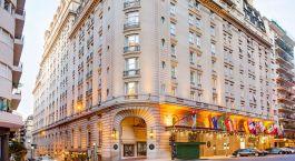 Auu00dfenansicht des Alvear Palace Hotel in Argentinien