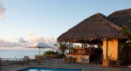 Auu00dfenansicht von Anantara Medjumbe Island Resort, Quirimbas Archipel in Mosambik