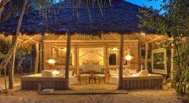 Auu00dfenansicht im Hotel Mnemba Island Lodge, Sansibar in Tansania