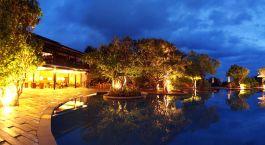 Auu00dfenansicht im Hotel Cinnamon Wild, Yala, Vietnam
