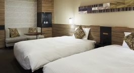 Schlafzimmer im Hotel Mitsui Garden Sapporo, Sapporo, Japan