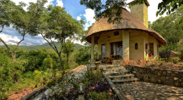 Auu00dfenansicht im Hotel Musangano Lodge in Eastern Highlands, Zimbabwe