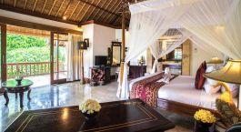 Bedroom at hotel Kori Ubud, Indonesia