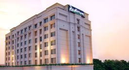 Auu00dfenansicht von Hotel Radisson Varanasi, Varanasi, Nordindien
