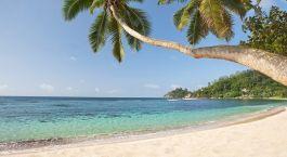 Anse Soleil - Paradise beach on tropical island Mahu00e9