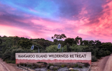 Sunset, Kangaroo Island Wilderness Retreat, Australia