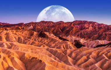 Dusk at Death Valley National Park