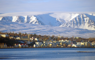 Akureyri in winter