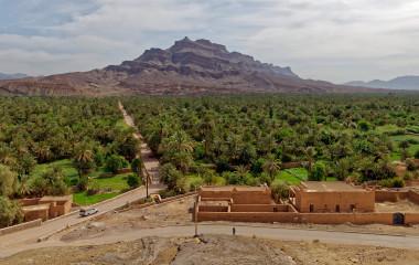 Agdz in Morocco