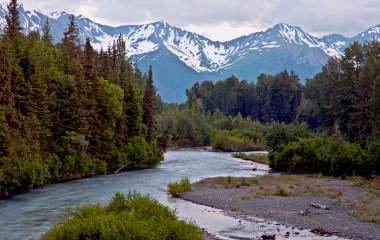 Girdwood in Alaska