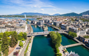 Geneva city in Switzerland