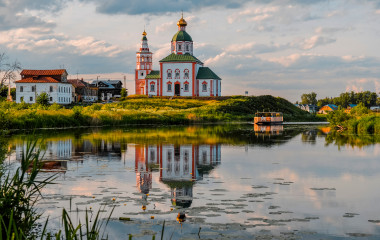 Suzdal in Russia