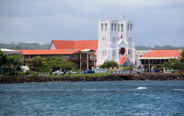 Apia, on the island of Upolu