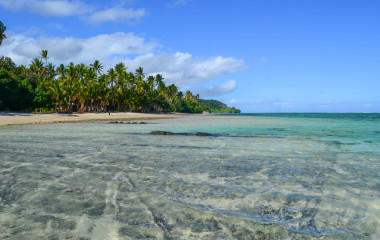 Coral Coast in Viti Levu Island, Fiji