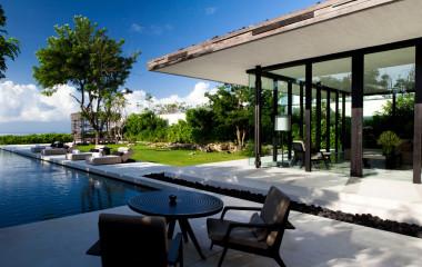 Pool im Hotel Alila Villas Uluwatu, Uluwatu, Indonesien