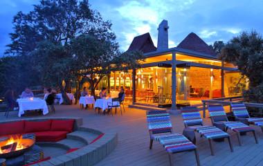 Outdoor communal seating, Angama Mara, Masai Mara, Kenya Tours, Africa