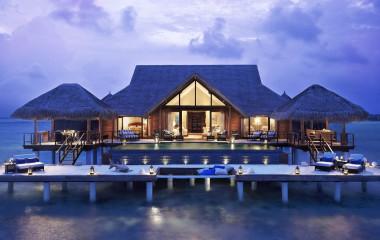 Auu00dfenansicht von Taj Exotica Resorts & Spa in Male, Malediven