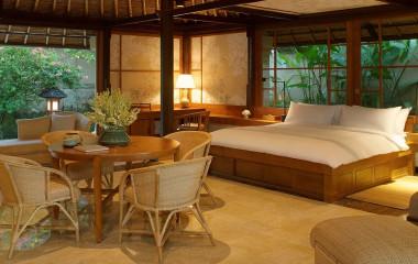 Bedroom, Hotels Amandari, Ubud, Bali, Indonesia, Asia