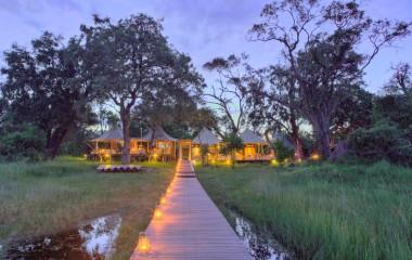 Guest Area, Xaranna Camp, Okavango Delta, Botswana Tours, Africa
