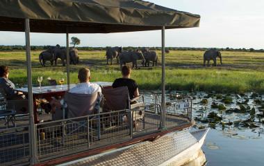 Auu00dfenansicht im  Chobe Game Lodge in Chobe National Park, Botswana