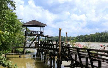 Sukau, Kinabatangan River, Malaysia, Asia