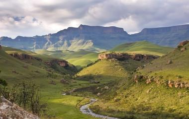 Landscape mountaina, Drakensberg, South Africa