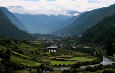 Haa Valley, Paro, Bhutan, Asia