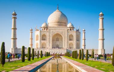 Taj Mahal in Agra, North India
