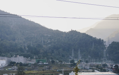 Mountain view, Bagdogra, Darjeeling, East India, Asia