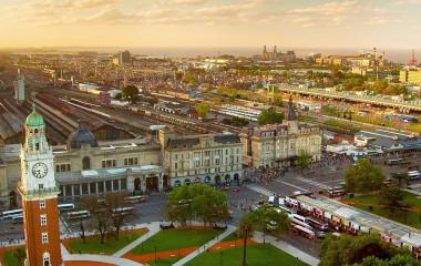 Retiro station, Buenos Aires, Argentina, South America