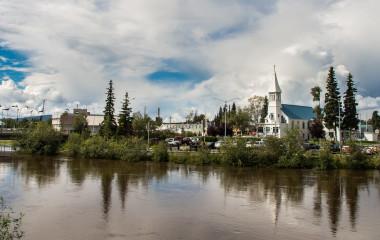 Fairbanks city in Alaska