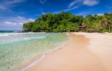 The popular Red frog beach on Bastimentos Island, Bocas del Toro, Panama