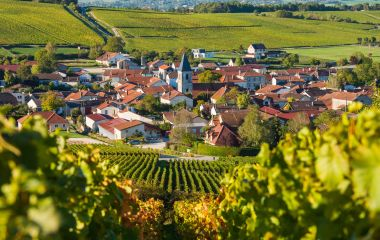 Famous Wine Village of Oger in Champagne-Ardenne near Epernay, France, Europe
