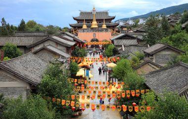 Ancient city in Dali, China, Asia
