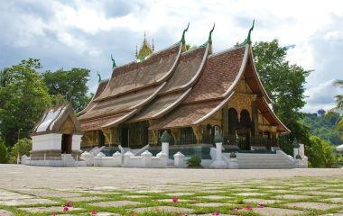 Wat Xieng thong temple,Luang Pra bang, Laos, Asia