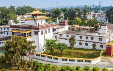 Mindrolling Monastery is a tibetan monastery located near Clement Town in Dehradun, Uttarakhand, India, Asia