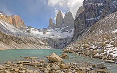 One of the highlights of Chile tours is the Torres del Paine National Park