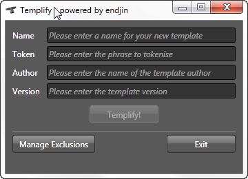 templify-this-folder-default-screen