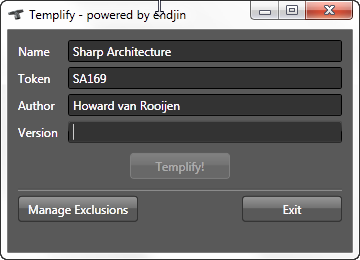 templify-this-folder-no-version-number-screen