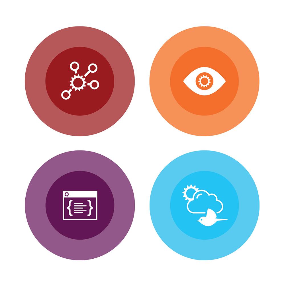 Endjin Strategy Creative Development & Cloud Icons