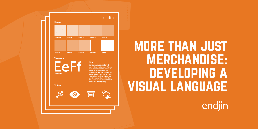 It's more than just merchandise: Developing a visual language