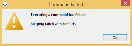 SG merge conflict message