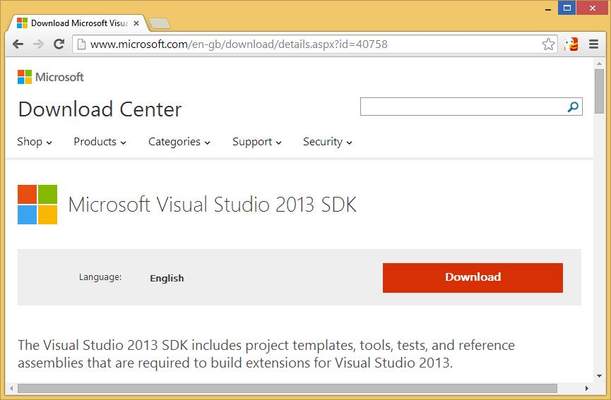 download-visual-studio-2013-sdk