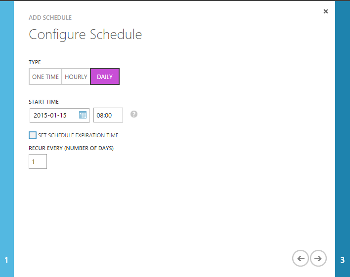configure-schedule-daily