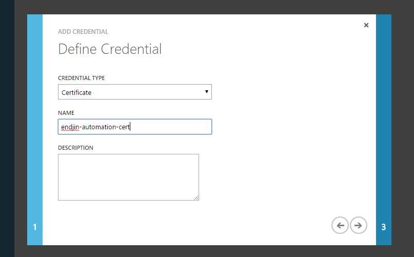 define-credential