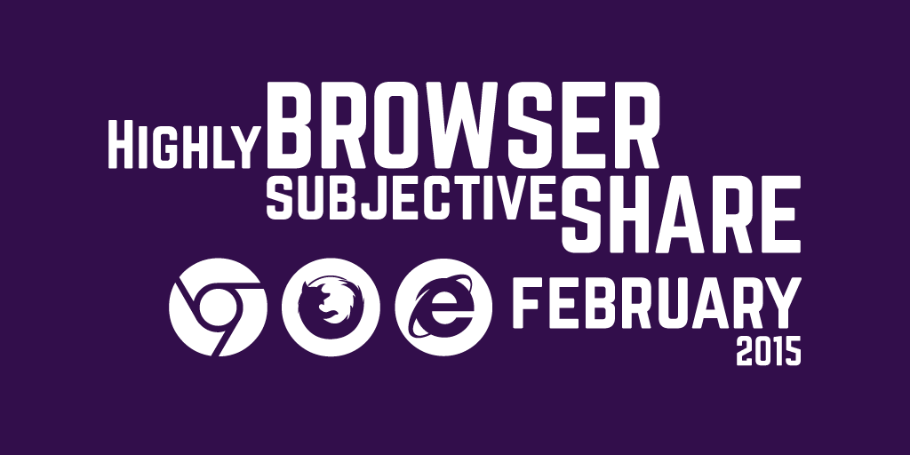 February 2015 Browser Share