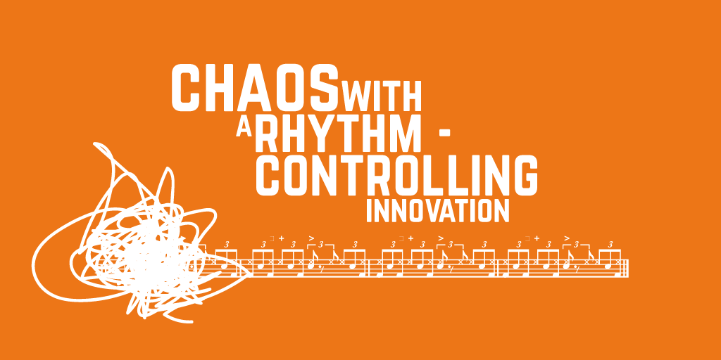 Chaos with a rhythm - controlling innovation