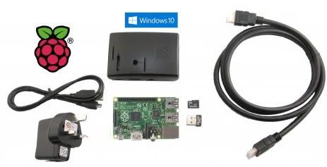 Windows IoT Raspberry Pi 2 starter kit
