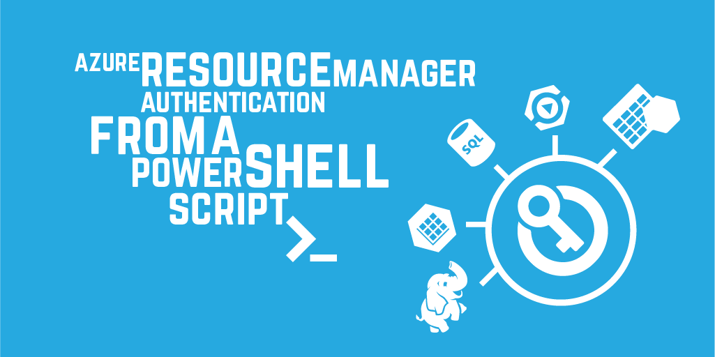 Azure Resource Manager authentication from a PowerShell script